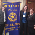 CCHLT Speaking with State College Rotary Club