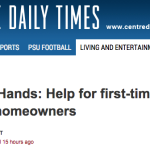 Helping Hands: Help for first-time Centre County homeowners