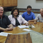Board member, George Khoury, Meets with Valley Homes