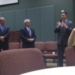 Centre County Commissioners sharing at CCCHS Meeting