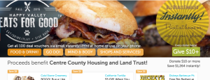 Happy Valley Eats for Good with Centre County Housing and Land Trust