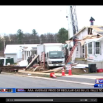 WJAC-TV covers CCHLT new homes on Woodycrest St.