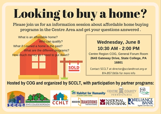 Looking to Buy a Home? CCHLT