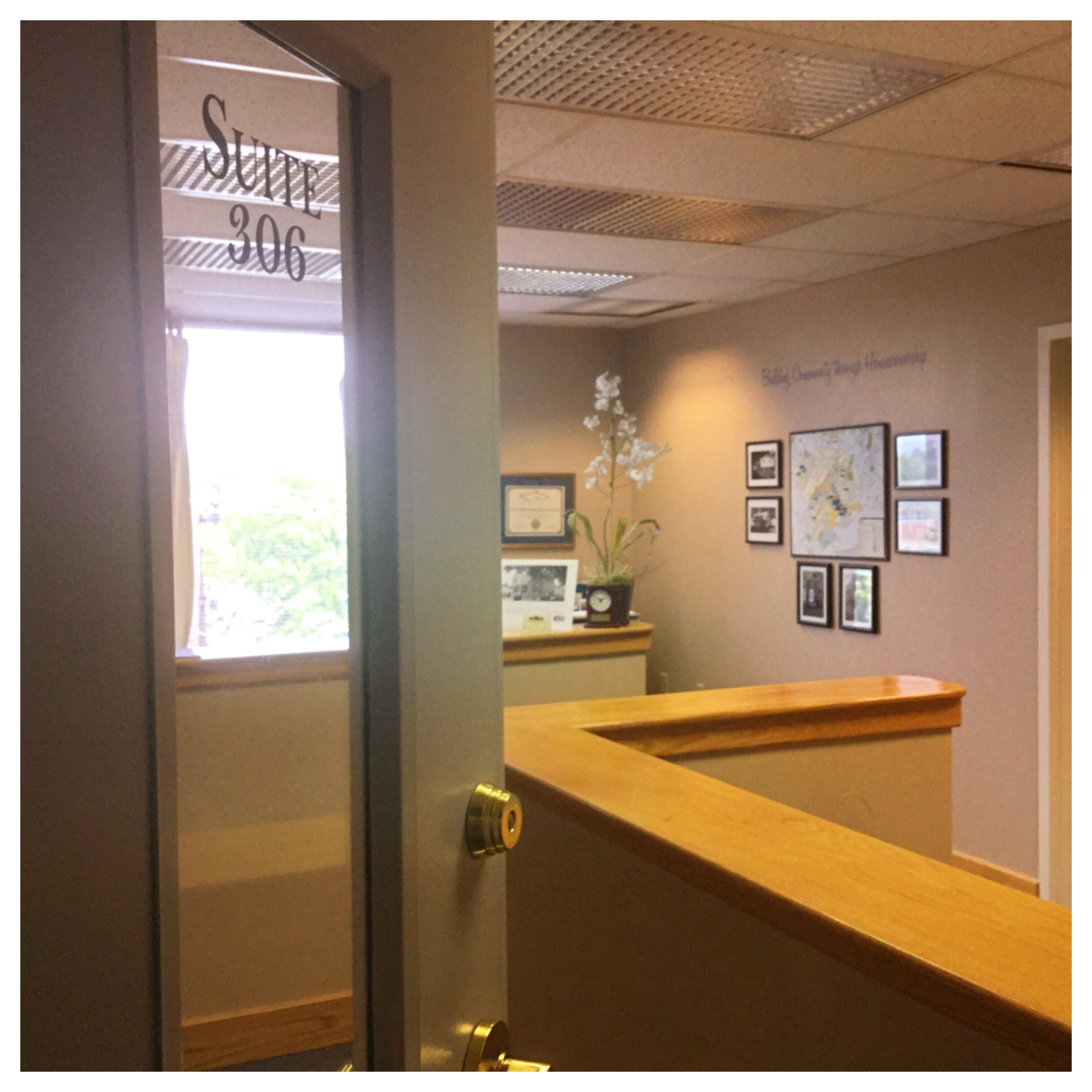 New CCHLT Office 1315 S. Allen St. Suite 306