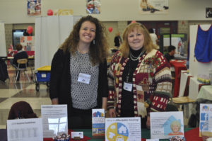 Centre County Housing & Land Trust at 2016 Super Fair with Rachel Fawcett, ED, and Board member Mary Wilson